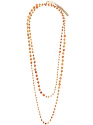 Rosantica 'Orcor' Necklace Yellow Orange