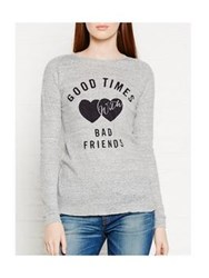 Zoe Karssen Good Times With Bad Friends Top Grey