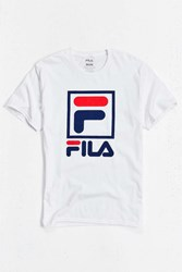 Fila Stacked Tee White