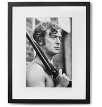 Sonic Editions Framed Michael Caine Get Carter Print 17 X 21 Black