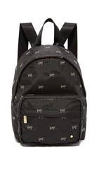 Le Sport Sac Piccadilly Backpack Petite Bows Black