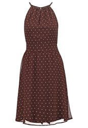 Esprit Collection Summer Dress Dark Brown