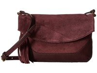 Frye Paige Small Crossbody Wine Top Handle Handbags Burgundy