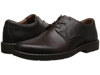 Clarks Stratton Way Brown Leather Men's Lace Up Cap Toe Shoes