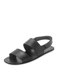 Prada Leather Strappy Sandal Black Men's Size 11 12.0Us