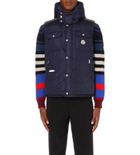 Moncler Anis Quilted Gilet Royal Blue