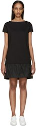 Moncler Black French Terry Dress