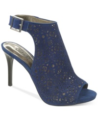 Carlos By Carlos Santana Bacchus Dress Heels Women's Shoes Blue