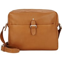 Maison Martin Margiela Two Compartment Messenger Brown