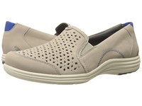 Aravon Bonnie Ar Stone Women's Slip On Shoes White