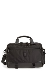 Topo Designs Men's 'Commuter' Briefcase Black Ballistic Black