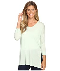The North Face Nueva 3 4 Tunic Subtle Green Women's Long Sleeve Pullover
