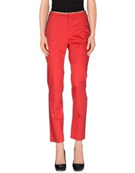 Alviero Martini 1A Classe Trousers Casual Trousers Women Red
