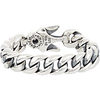 Good Art Hlywd Men's Heavy Curb Chain Bracelet Silver