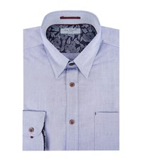 Ted Baker Soft Oxford Soft Male Blue