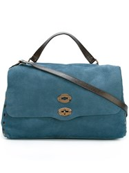 Zanellato Large 'Postina' Tote Bag Blue