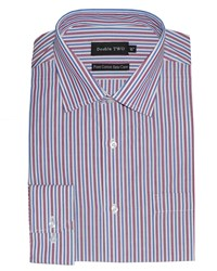 Double Two Formal Shirt Red