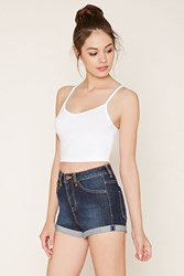 Forever 21 V Neck Cropped Cami