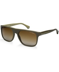 Emporio Armani Sunglasses 0Ea4014p Green Brown