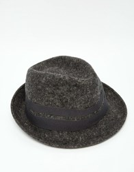 Catarzi Trilby Hat Gray
