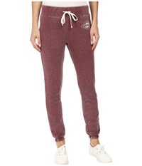 Billabong Bench Warmer Pants Mystic Maroon Women's Casual Pants Brown