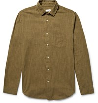 Gant Rugger Sub Cotton Shirt Army Green