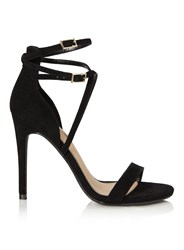 Miss Selfridge Charis Barely There Sandal Black