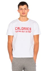 Rxmance Calories Heavy Box Tee White