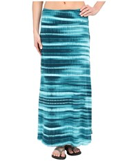 Prana Kendra Skirt Retro Teal Women's Skirt Blue