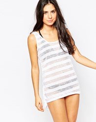 Oakley Beach Vest Dress White