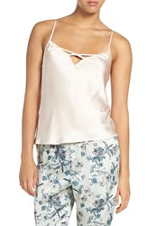 Chelsea 28 Women's Chelsea28 Cross Neck Satin Camisole