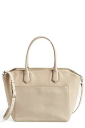 Halogen 'Pioneer Square' Leather Tote Brown