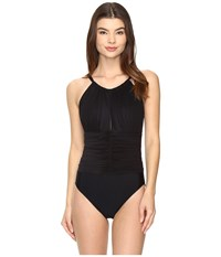 Magicsuit Solids Kat One Piece Black Women's Swimsuits One Piece