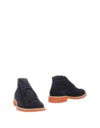 Gold Brothers Ankle Boots Dark Blue