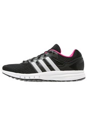 Adidas Performance Galaxy 2 Cushioned Running Shoes Core Black White Shock Pink