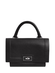 Givenchy Small Shark Lock Waxed Leather Bag