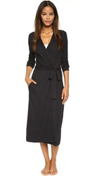 Yummie Tummie Long Robe Black
