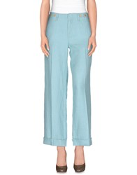 Haikure Trousers Casual Trousers Women Turquoise
