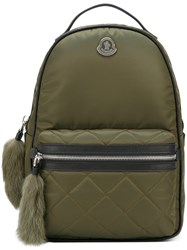 Moncler Small 'Georgette' Backpack Green