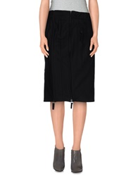 Exte Knee Length Skirts