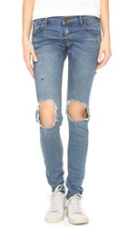 One Teaspoon Blue Blonde Loonies Jeans
