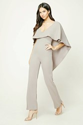 Forever 21 Flounce Layer Jumpsuit