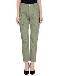 Please Casual Pants Military Green