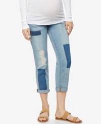 Blank Nyc Maternity Boyfriend Jeans Light Wash