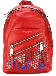 Marc Jacobs 'P.Y.T' Backpack Red