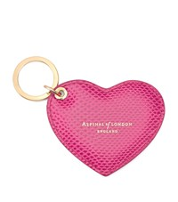 Aspinal Of London Heart Key Ring Unisex