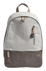 Men's Skagen 'Kroyer' Coated Twill Backpack Grey Heather