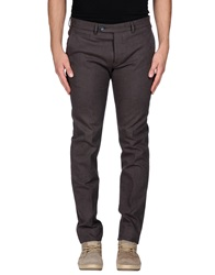 Paoloni Casual Pants Dark Brown