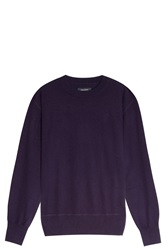Isabel Marant Fiji Cashmere Sweater Purple