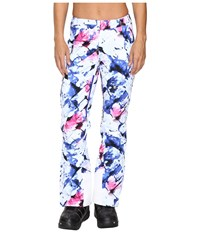 Spyder Temerity Athletic Fit Pant Frozen Bling Print Women's Casual Pants Blue